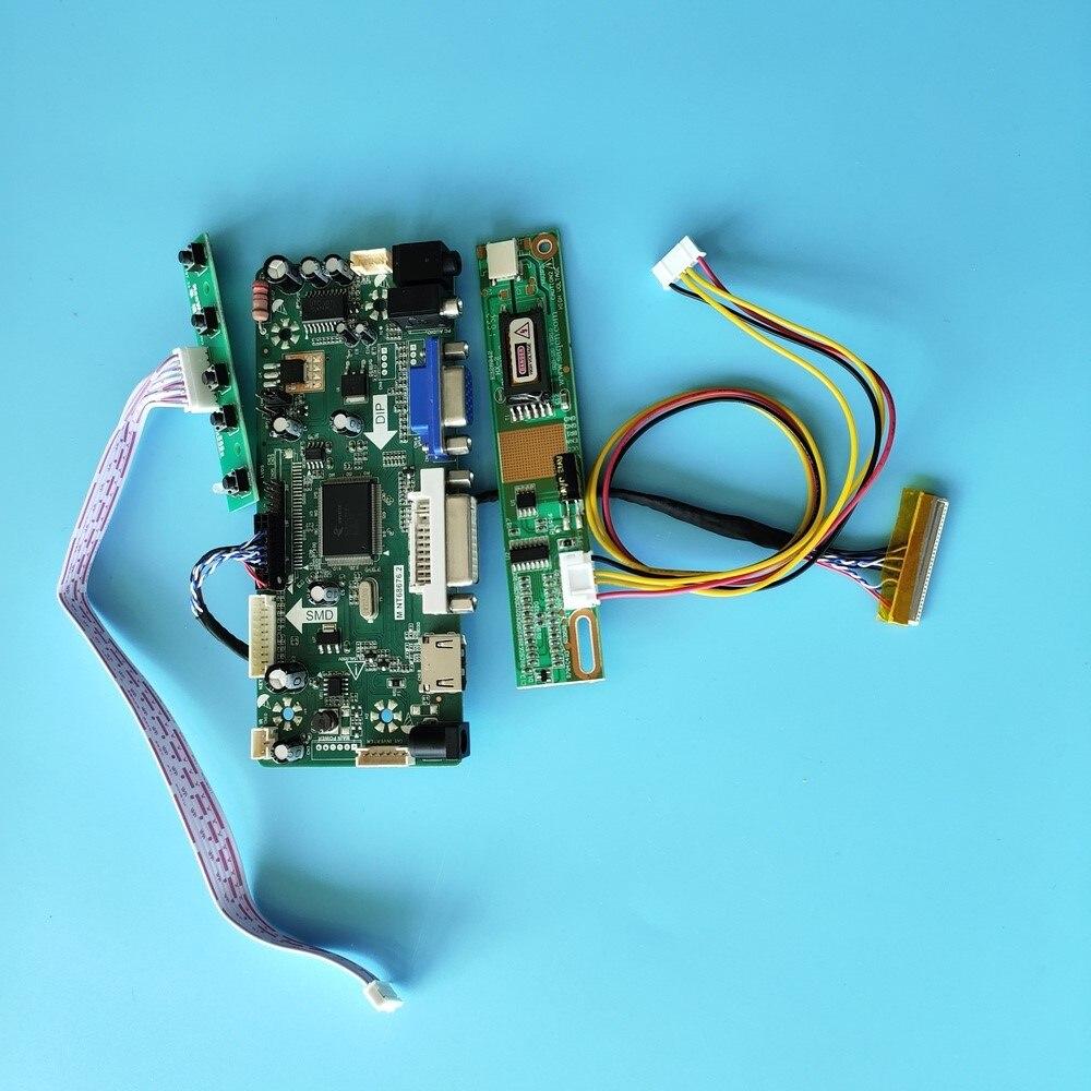 كيت ل QD15XL01 Rev.01/QD15XL04 Rev.02 M.NT68676 عرض لوحة تحكم مجلس 30pin 1024x768 HDMI + DVI + VGA LCD الصوت 15