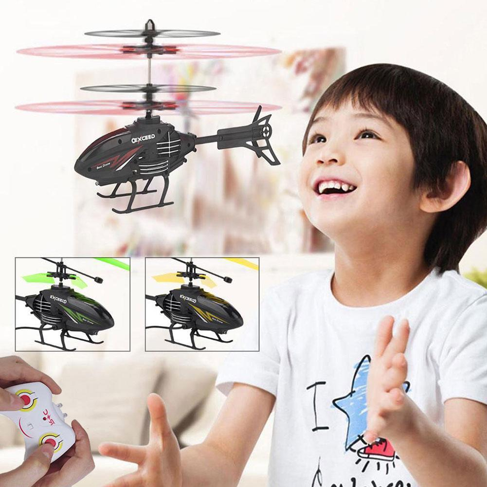 Rc Infrared Induction Aircraft Remote Control  Airplane Mini Rc Helicopter Rc Drone Funny Toys Outdo