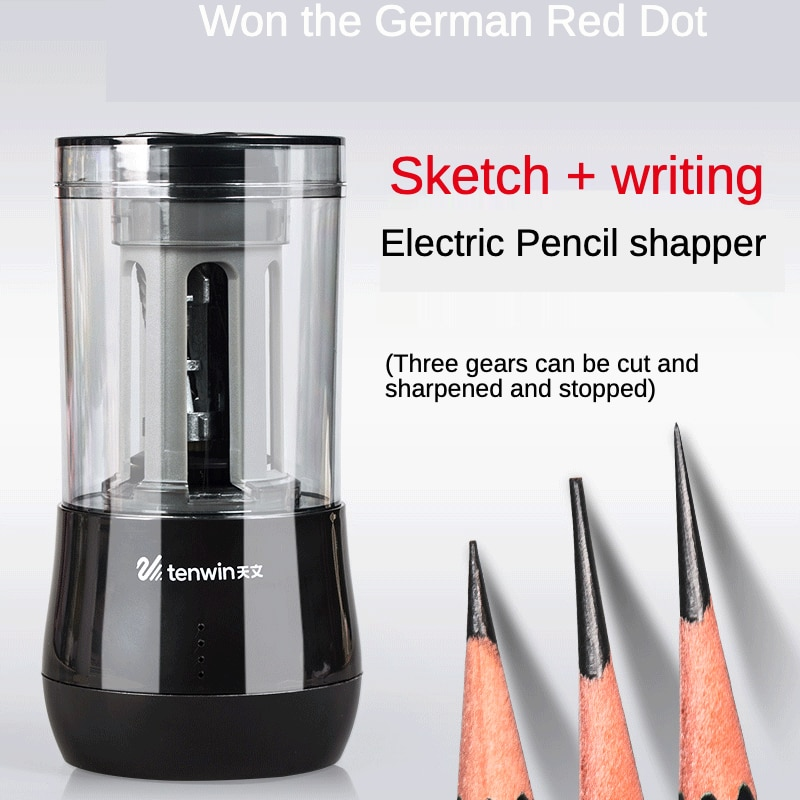 Electric Pencil Sharpener for Kids Automatic Pencil Sharpener with USB for Artists Students Art Supplies School Stationery