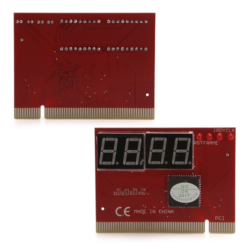 High Quality PC 4 Digit Diagnostic Analyzer Card Motherboard Tester
