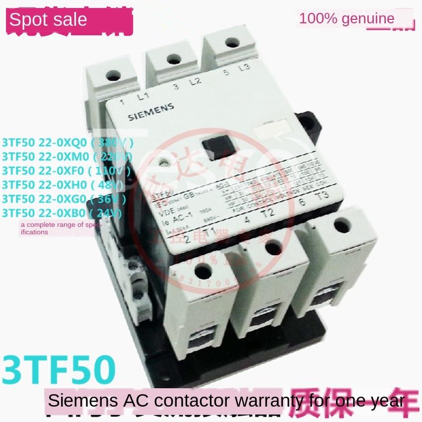 [Original] Siemens 3TF50 22-0X contactor 380V 220V 110V 36V 24V