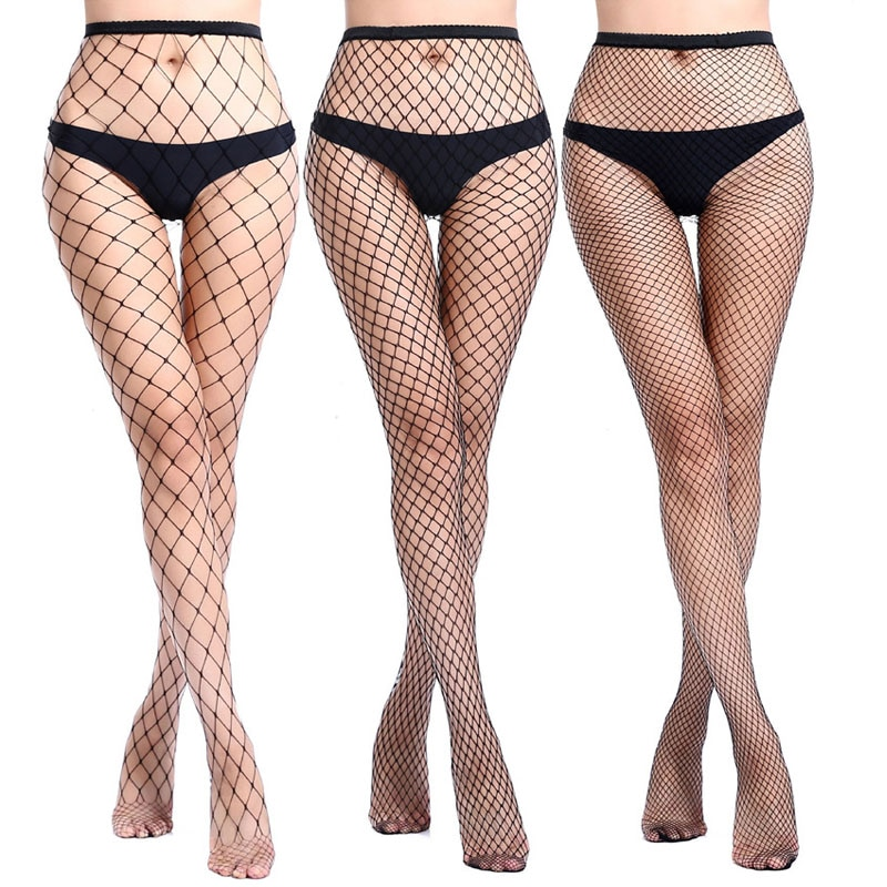 zigzag sheer mesh workout tights Women Tights Pantyhose Black Mesh Sheer Sexy Fishnet Stockings Night Club Party In Grids Hosiery Calcetines Collant Lingerie