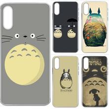 TPU Coque Anime Mein Nachbar Totoro Für Samsung Galaxy J8 J7 J6 J5 J4 J3 J2 prime pro core 2018 2017 2016 2015