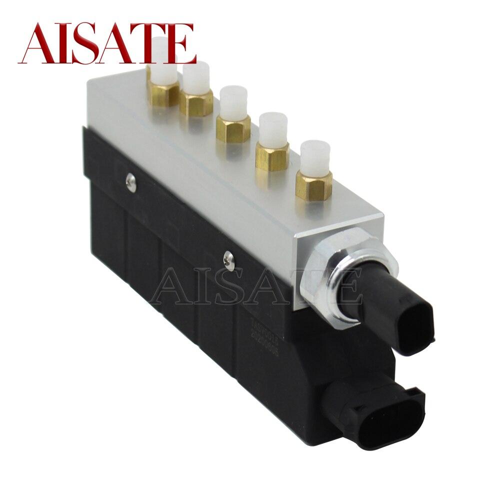 Bloco separado novo da válvula do compressor da suspensão do ar para mercedes-benz s-classe w220 2203200104 a2203200258