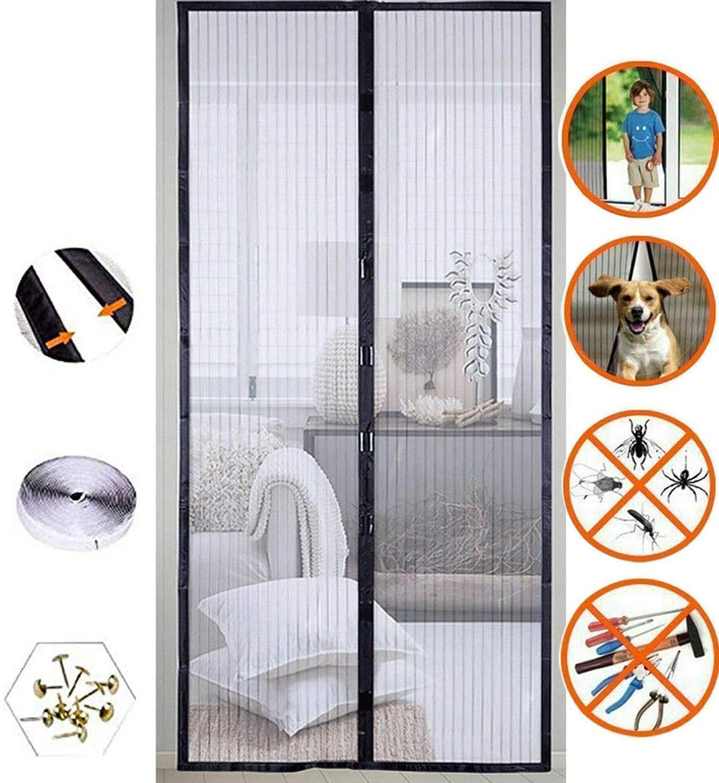 110x210 см Премиум Магнитный Экран Премиум Лето против комаров насекомых Fly ошибках шторы автоматического закрывания дверей Экран s Сетка