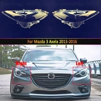 car headlamp lens for mazda 3 axela 2013 2014 2015 2016 car replacement auto shell cover