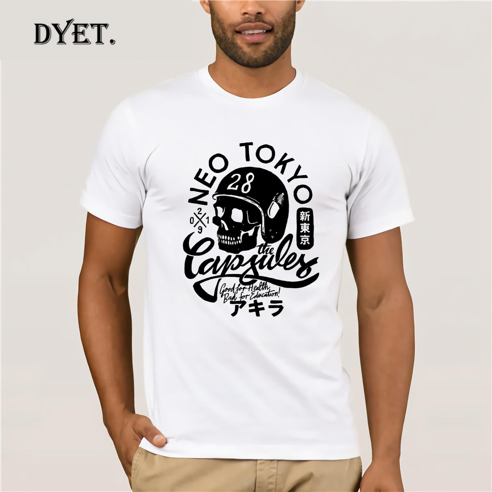 Camiseta de Akira, Camiseta informal de Anime japonés, Camiseta de talla grande,...