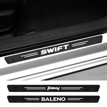 Voor Suzuki Swift Alto Baleno Celerio Ciaz Evenaar Ertiga Grand-Vitara Ignis Jimny Samurai S-Cross SX4 Auto instaplijsten Stickers