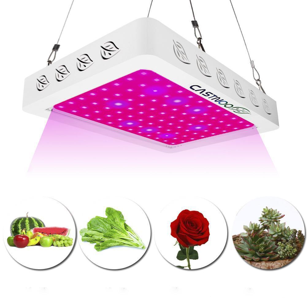 500 Вт 96 Светодиодный светильник для выращивания, полный спектр, для помещений, гидро-растительный цветок, панель для выращивания, светодиодн...
