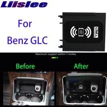 Support de chargement sans fil Qi   Pour téléphone, chargeur sans fil Qi pour mercedes-benz glc-class X253 C253 2015 ~ 2020