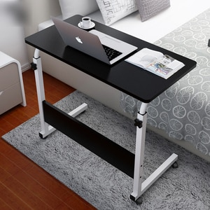 Simple Computer Desk To Make A Bed with A Small Table Folding Student Dormitory Desk Simple Multi-functional Lazy Bedside Table
