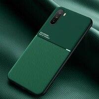 luxury leather case for huawei mate 20 lite 40 pro x p30 p40 pro plus magnetic cover honor 20 10x lite note 10 nova 7 se 6 case