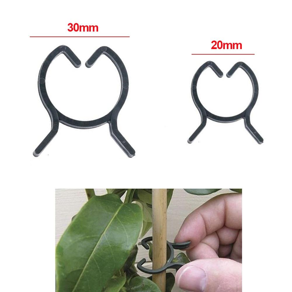 100шт садові кліпси для рослин овочеві рослини лози затискачі для утримання стебла рослин