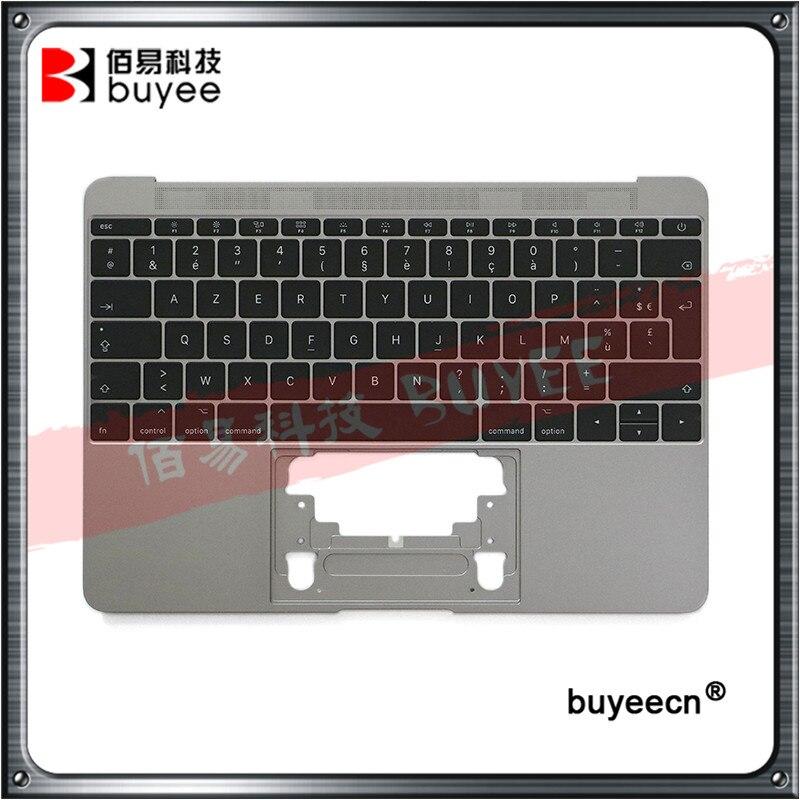 Оригинальный новый верхний чехол A1534 с английской клавиатурой 2016 для Macbook Air Retina, 12 дюймов, A1534, верхний чехол без подсветки