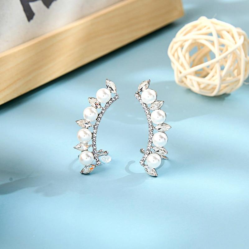 Joyería de moda, pendientes de perlas de imitación de cristal para mujer, novedad de 2020, venta al por mayor de fábrica