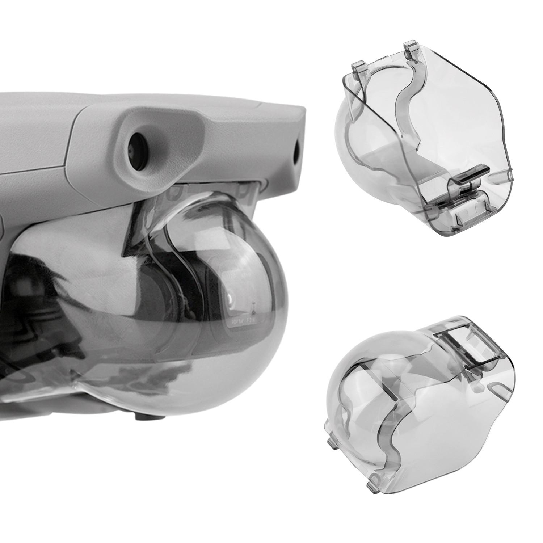 Cardán bloqueo estabilizador lente de cámara, gorra de repuesto con cámara, a prueba de polvo, cubierta protectora para DJI Mavic Air 2, accesorio