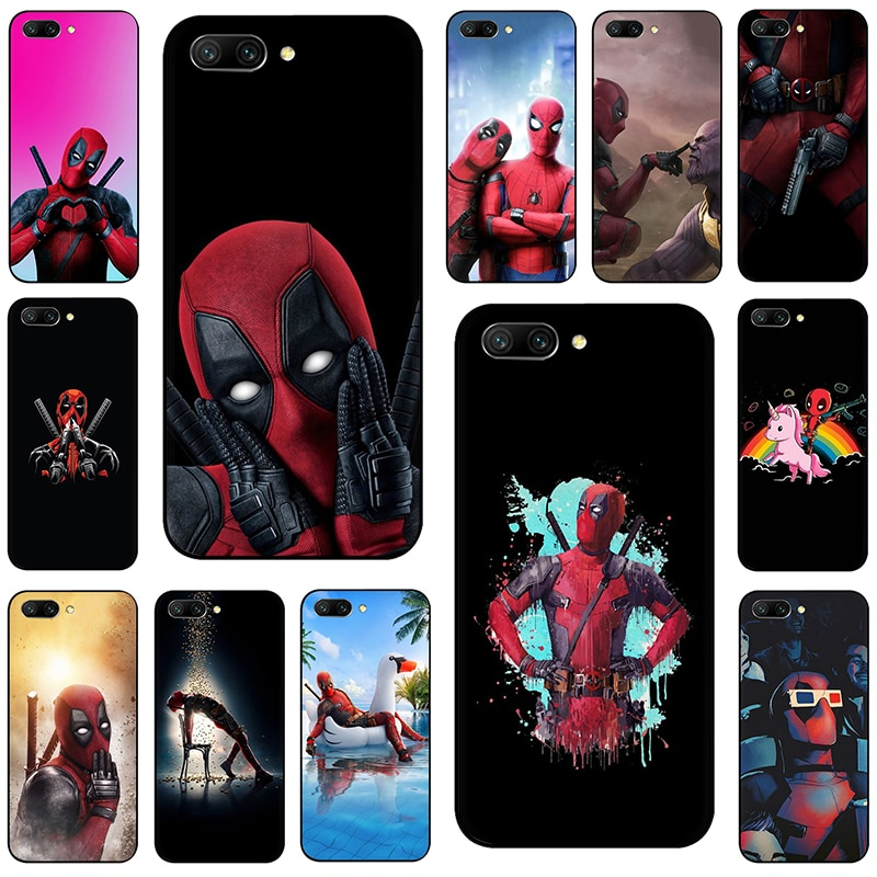 Marvel The Avengers Jorker Dead Pool Silikon Telefon Fall für Huawei Ehre 6A 7X 8X 8C 8A 8 9 10 lite V20 V30 20 30 20S 9X Pro