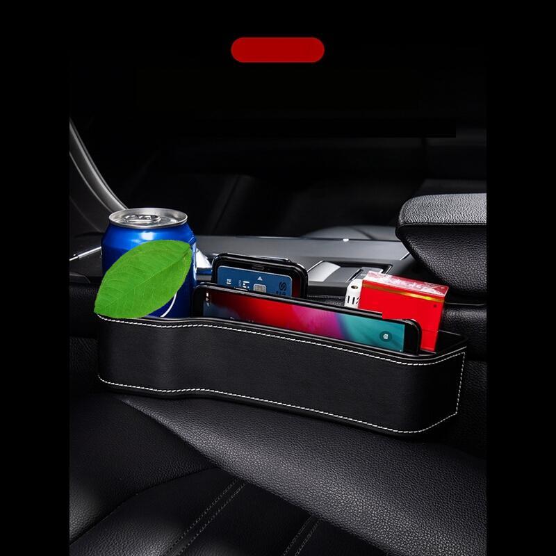 Do Samochodu and Auto Accesorios Camping Accessoire Gadget Organizer Car Accessories Interior Universal Seat Gap Storage Box enlarge