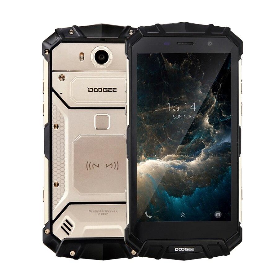 "DOOGEE S60 Lite IP68 agua 5580mAh de carga inalámbrico 12V2A carga rápida 5,2 ""FHD MT6750T Octa Core 4GB 32GB teléfono inteligente 16.0MP Cam"