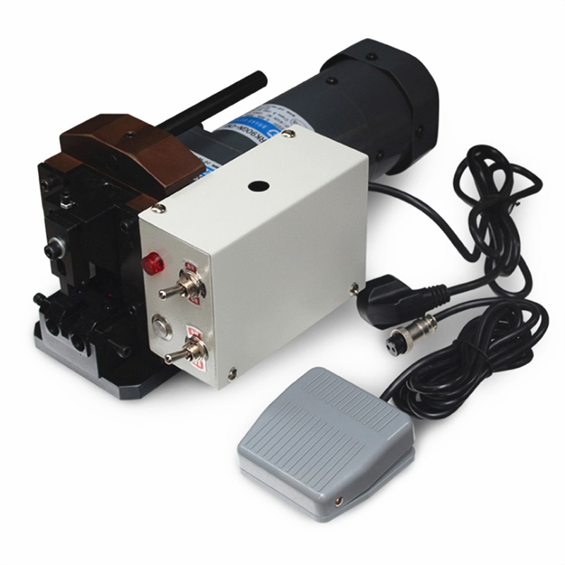 التلقائي شبكة كابل كريستال رئيس العقص آلة شبكة كابلات الموصلات آلة محطة العقص آلة 220 فولت
