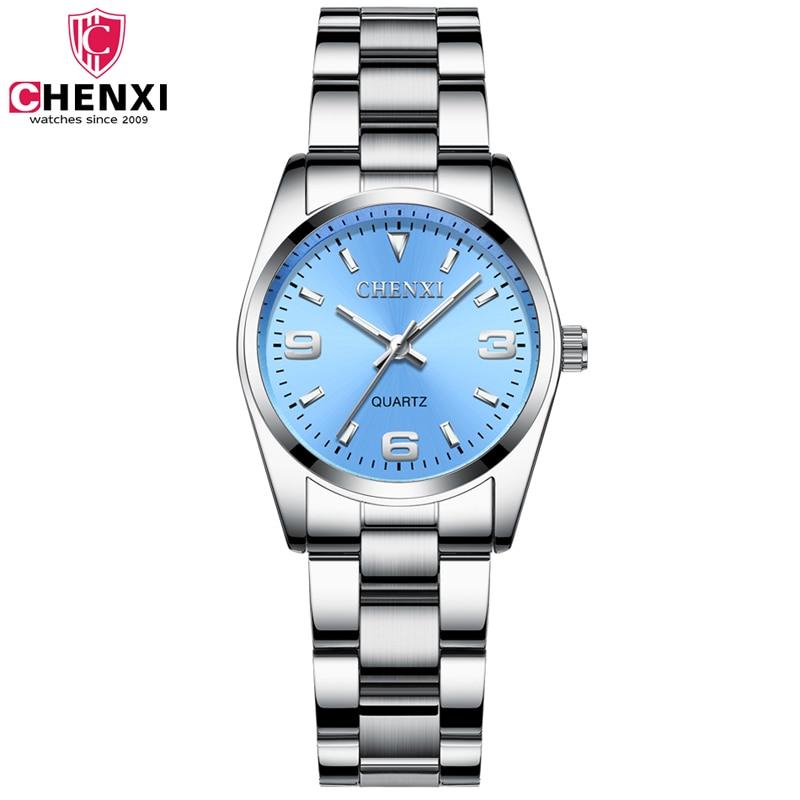 CHENXI Watches Women Fashion Watch 2021 Luxury Stainless Steel Ladies Bracelet Wrist Watches For Women Casual Relogio Feminino
