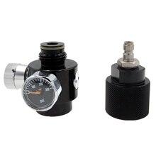 Paintball Airsoft BB GUN HPA Co2 Regler & Adapter DIY Kit Einstellbare Bereich 0 ~ 200psi
