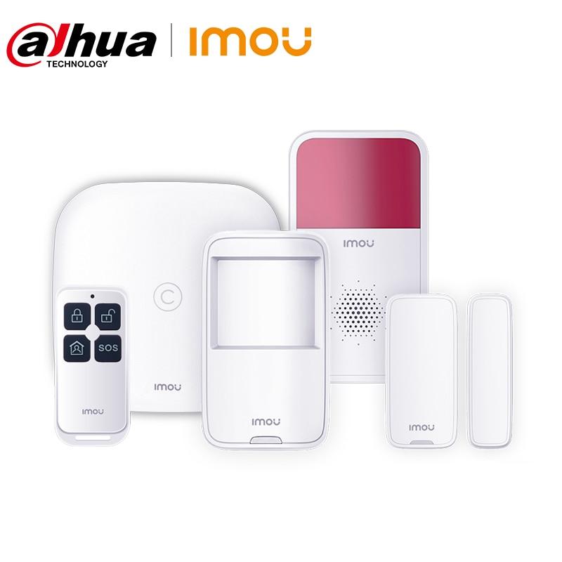 Умная Система сигнализации Dahua Imou с детектором движения, контактная сирена для двери, удаленное управление, умный дом, безопасность