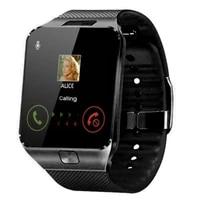 2020 fashion touch screen smart watch men women wristwatch with sim card camera bluetooth smartbracelet dz09 android call watch