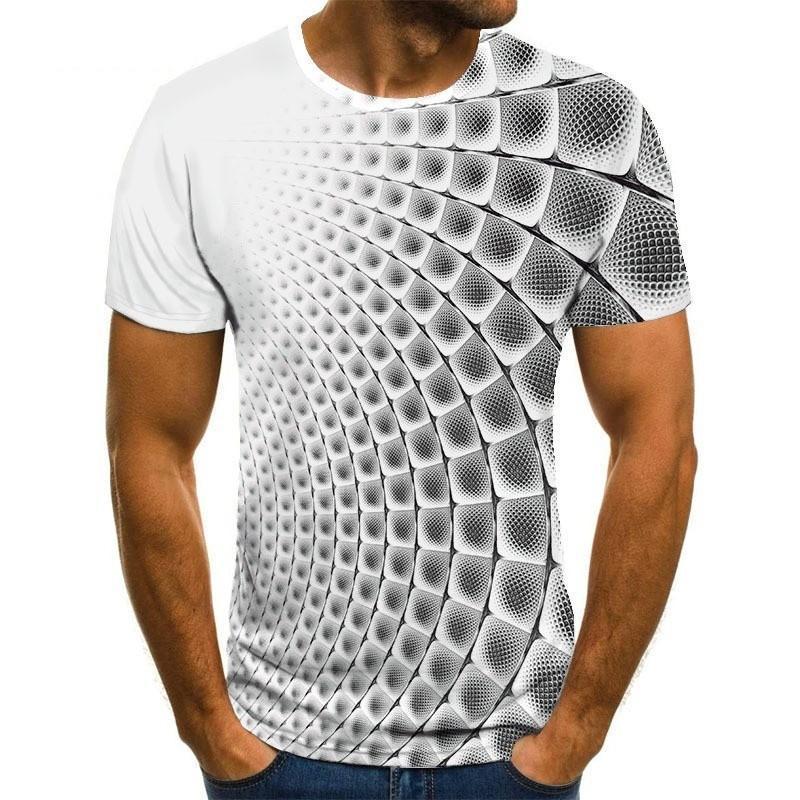 Camiseta con estampado grfico 3D de varios colores para hombre y mujer......