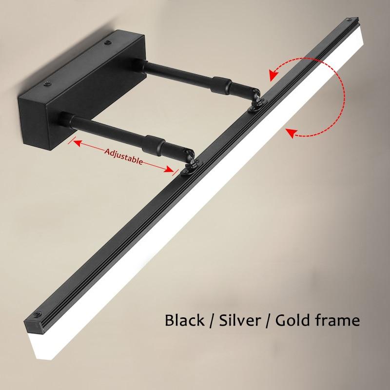 مصباح جداري LED حديث ، غرفة نوم ، سلالم ، حمام ، قابل للتعديل ، L40 ، 60 ، 80 و 100 سنتيمتر ، وصل حديثًا