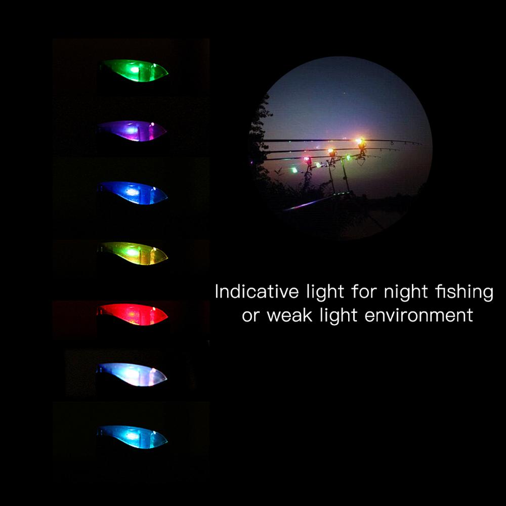 Lixada Wireless Digital Fishing Alarm Set Fishing Bite Sound Alert Kit Changeable Color LED Alarm Indicator for night Fishing enlarge
