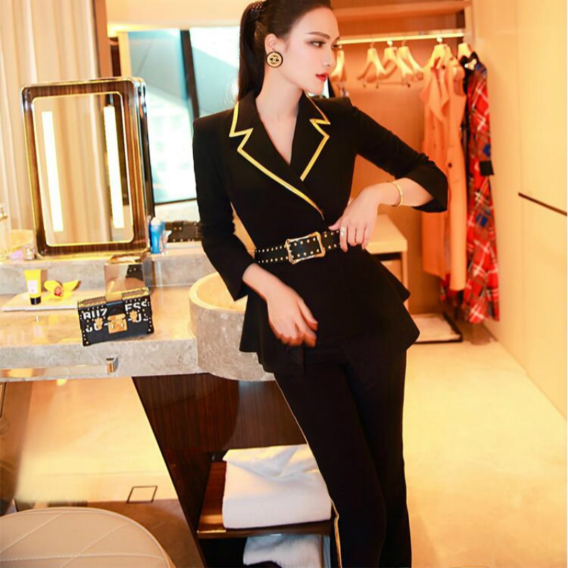 Jumpsuit Bodysuit playsuit new spring and autumn office lady brand female women ladies girls clothing