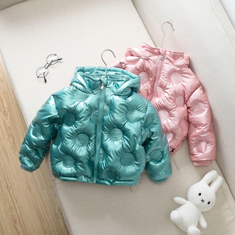 Kids Winter Jacket free wash 90%Duck Dwon Silver Down Jacket Kids Girls Boys Clothing Coat Snowsuit Outerwear Infant Overcoat