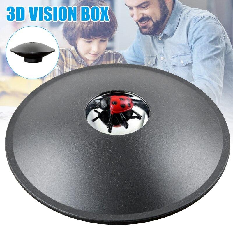Nuevo fabricante de ilusión óptica 3D Mirascope holograma imagen creador ciencia truco juguetes educativos DOM668