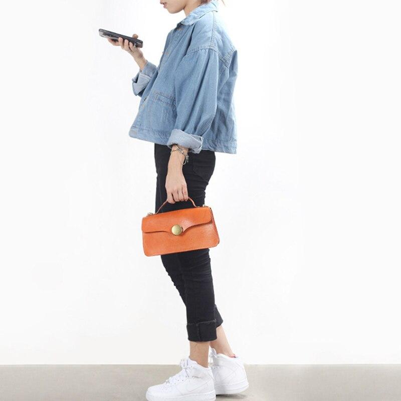 YIFANGZHE bolso de mano para mujer, diseño suave de cuero de bandolera, monederos con asa superior, Premium Gold Hardware