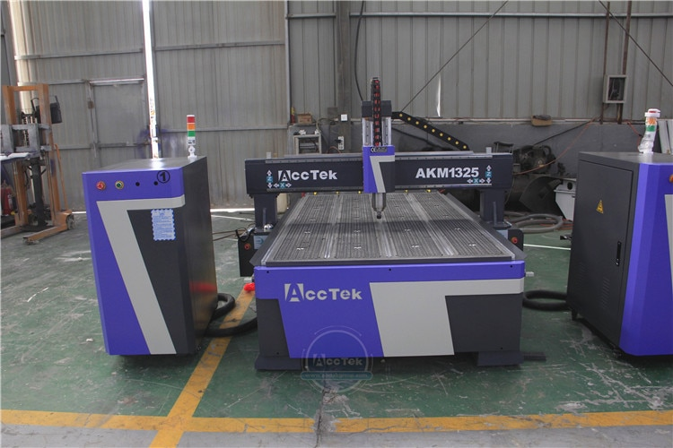 4X8FT Wood CNC Router Machine With Mach3 Software Polyboard for MDF Partical Board 18mm enlarge