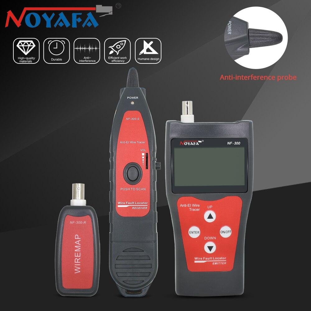 Noyafa NF-300 câble Tracker détecteur fil Tracker Lan testeur professionnel réseau câble testeur Poe réseau outils