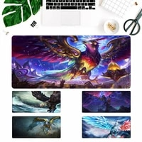 fashion lol anivia mouse pad laptop pc computer mause pad desk mat for big gaming mouse mat for overwatchcs go