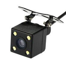 Automobile Rearview Camera DVR Camcorder Black Box Recorder 4pin 2.5mm Jack 6m Cable Dash Cam Dual R