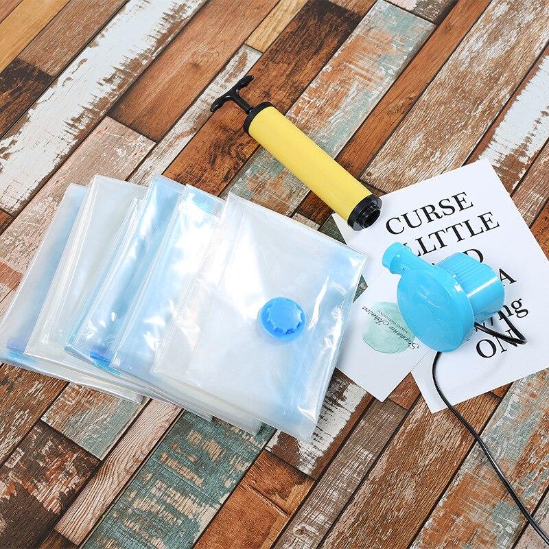 Bolsa de vacío + PE bolsa de compresión al vacío 80*110 bolsa Extra grande tipo comprimible bolsas de almacenamiento espaciosas