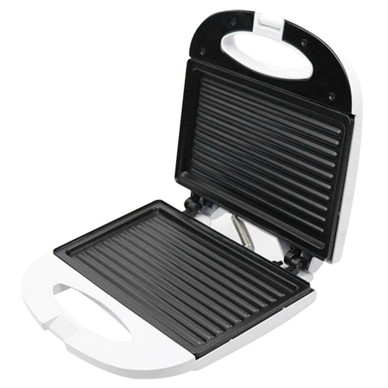 Электрическая мини-сэндвич-машина, гриль, машина для завтрака Panini стейк гриль, жаровня, американская вилка