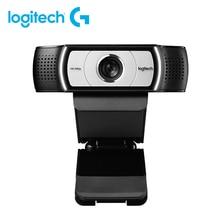 Logitech Webcam C930e / C930c HD Smart 1080P Webcam pour ordinateur Zeiss objectif USB vidéo en ligne classe HD beauté Webcam