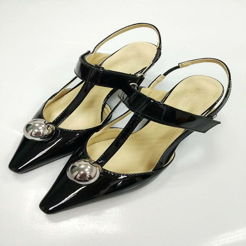 Sandalias de tacón alto para mujer 2019 sandalias con chapado en bolas con cabeza cuadrada en forma de T con herraduras para mujer zapatos