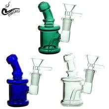 1 Uds para fumar portátil pipa de vidrio Durable delicado pipa de tabaco cigarrillo titular colector pipa de mano pipas