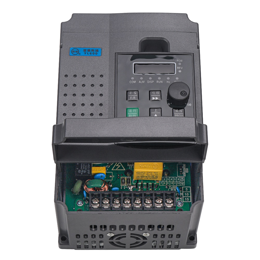 2.2KW/1.5KW  220V VFD Single Phase, 220v Input and 3 Phase 220V Output Frequency Converter ,Adjustable Speed enlarge