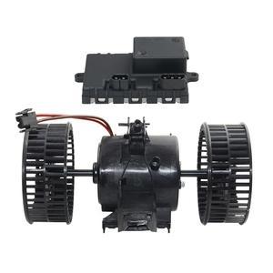 AP03 Blower Motor Regulator+ Blower Motor FOR BMW 5 6 Series E60 E61 E63 E64 535i 530i 650i 630i 64116933910