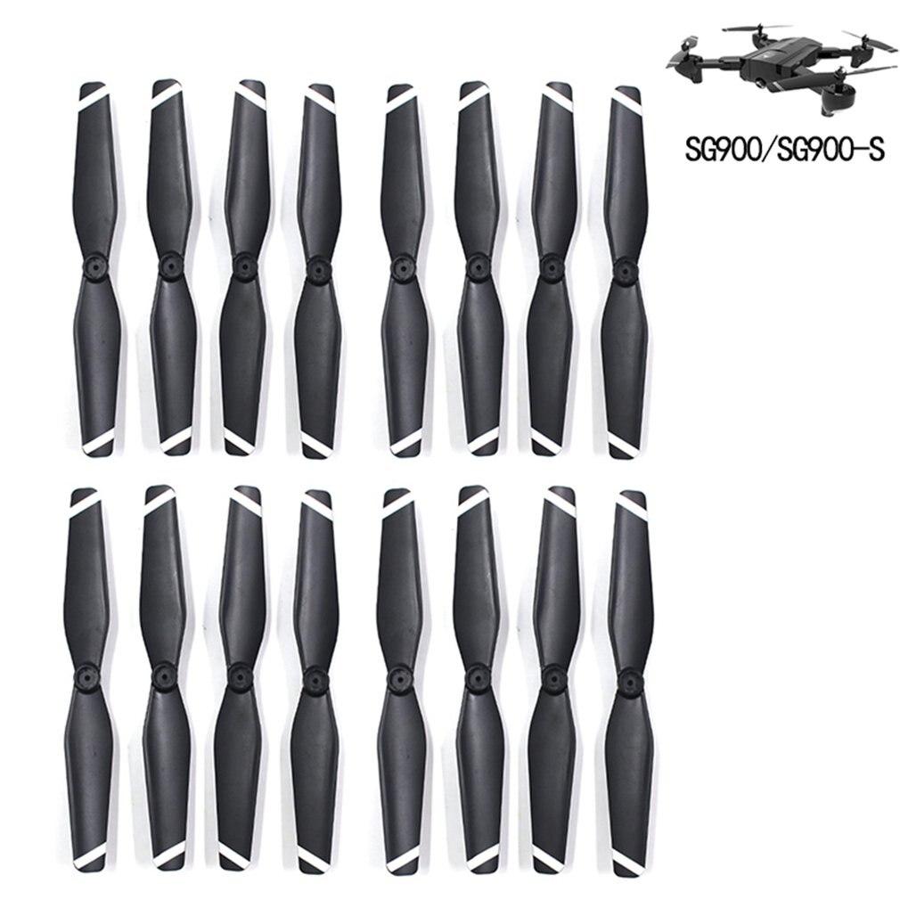 8 pares cw/ccw hélice adereços de reposição lâmina peças reposição conjunto acessórios para sg900/s fpv rc zangão quadcopter uav aeronaves