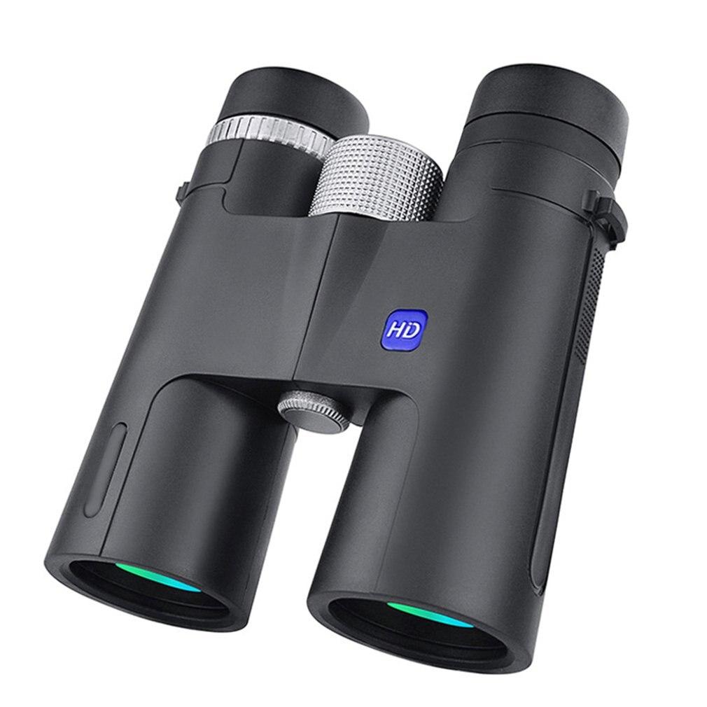 12x42 Binoculars High Power High Definition Binoculars With BAK4 Lens Outdoors Waterproof Hand Held Telescope