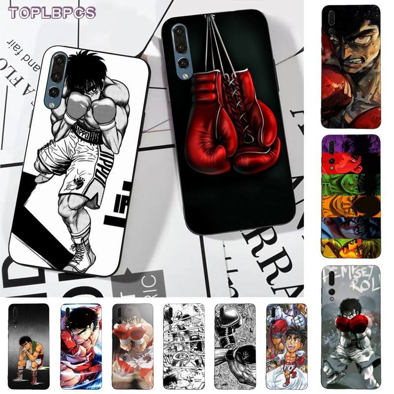 TOPLBPCS Hajime no ippo cubierta de la caja del teléfono para huawei P8 P9 p10 p20 P30 P40 pro lite psmart 2019