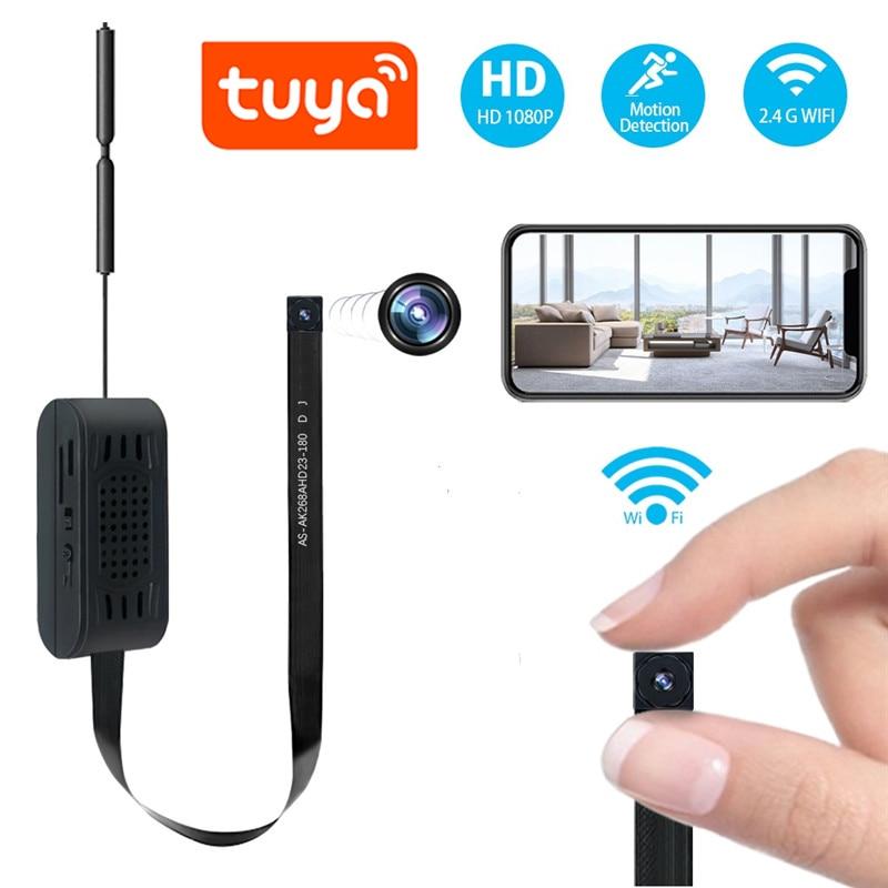 Мини-видеорегистратор Yoothi, Wi-Fi камера Full HD 1080P, наименьший видеорегистратор, микрокамера Tuya, IP Wi-Fi, модуль секретной камеры